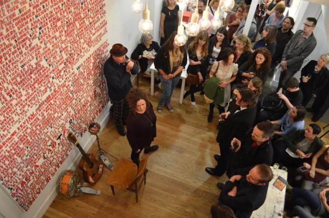 Bob and Roberta Smith Performance at Plymouth Arts Centre
