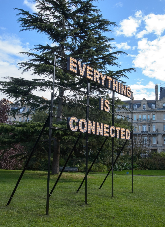 Peter Liversidge Everything is Connected